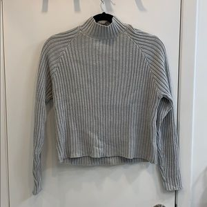 Forever 21 high neck long knit sweater